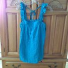 Women's Camisole Turquoise Top by Volcom Size large