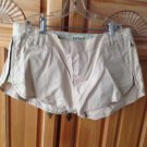 Women's Reef Tan Shorts Size 5/27 With Side Zippers