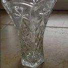 decorative cut glass vase