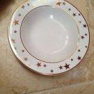 set of 12 plates star motif