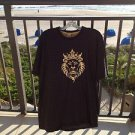 black, gray, gold shirt by Nike size large