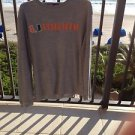 University Of Miami Long Sleeve Gray Thermal Shirt Size Large By Champs
