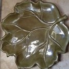 set of 10 ceramic leaf plates 2 of each color linens n things