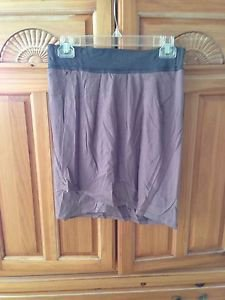 Women's mocha skirt with flap size medium by Element