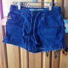 Womens Denim Drawstring Shorts by Volcom Size 3