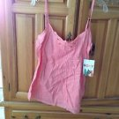 Women's peach melon camisole size large by roxy
