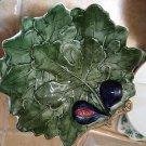 Decorative Ceramic Leaf Serving Dish