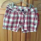 Women's Plaid Shorts By Element Size 0