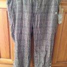 Womens plaid Capri pants size 5 by element