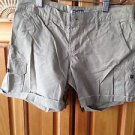Womens Tan Frayed Hem Shorts by Roxy Size 1