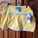 Roxy Girl Soft yellow skort Size Large