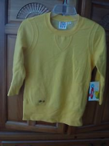 Super Soft Yellow Sweatshirt Size Small by Roxy