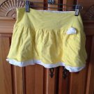 Roxy Girl Soft yellow skirt Size Small