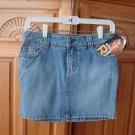 Girls Denim Distressed Skirt Size 12 by Roxy