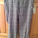 Womens plaid Capri pants size 1 by element