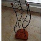 metal and wood cd holder beauty by designer studio