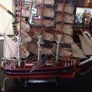 Beautiful Detail to be Enjoyed Wooden sailing ship Cuttysark Sailboat