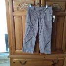 girls plaid pants Size 8 By Roxy girl