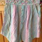 Women's Reef Skirt Pastel Stripe Size 0/24