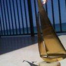 under sail sailboat sculpture metal nautical art