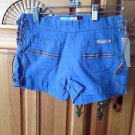Roxy Girl Denim Shorts Size 12 with side ties