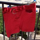 Womans Polka Dot Skirt Red And White By Chaps Size 10