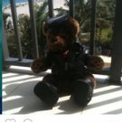 Harley Davidson Bear Stuffed Animal With Jacket Boots Hat...