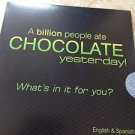 A Billion People Ate Chocolate Yesterday Cd