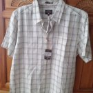 Quiksilver waterman collection Mens vanguard short sleeve size large comfort fit