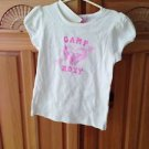 Roxy Teenie Wahine girl camp roxy top size large