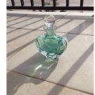 Exquisitely Designed Turquoise Decorative Glass Bottle ^