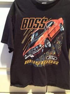 Boss Mustang 1969 Tshirt By Delta Pro Weights Short Sleeve Size Xl