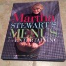 Martha Stewart's Menus for Entertaining [Hardcover] Stewart, Martha