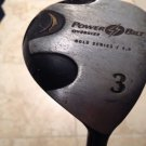 Powerbilt Oversized 3 Gold Series 5.0 Polarized Ultrakicks Shaft Golf Club
