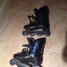 inline skates rocket 2 size large 9-12 beautiful condition