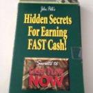 Hidden Secrets For Earning Fast Cash Cassette Tape By John Polk Secrets