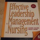 Effective Leadership and Management in Nursing (6th Edition) paperback