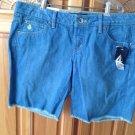 Women's Frayed Hem Jean Shorts Volcom size 9