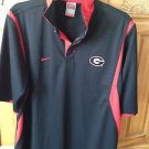 mens Nike team black & red shirt size small