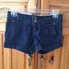 women's denim shorts by zco jeans premium size 3