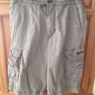 Mens Size 36 Union Bay Cargo Shorts Tan