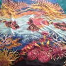 Beautiful Beach Print Pareo Shawl Wrap Cover Up
