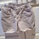 Womans Tan Jean Shorts By Faded Glory Size 12