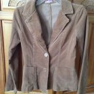 tan corduroy blazer jacket by XXI size small beautiful condition