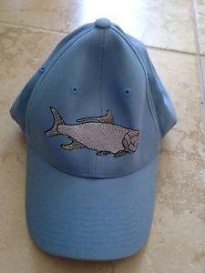 hatco adult fishing baseball cap one size fits most blue