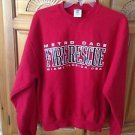 Fire Rescue metro dade miami florida red Sweatshirt Size Small By Jerzees