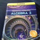 Prentice Hall Mathematics ALGEBRA 2 Florida Edition Textbook 2004