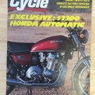 Cycle Magazine May 1976 Honda Yamabanger