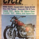 Motor Cycle world june 1971 honda-suzuki-ossa-kawasaki-norton-ariel