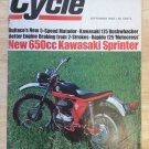 Cycle Magazine September 1968 Bushwhacker Matador Kawasaki Sprinter
